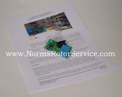 Norm's Rotor Service BD-189 Brake delay for antenna rotor control box
